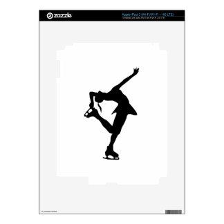 Figure Skater Skin For iPad 3