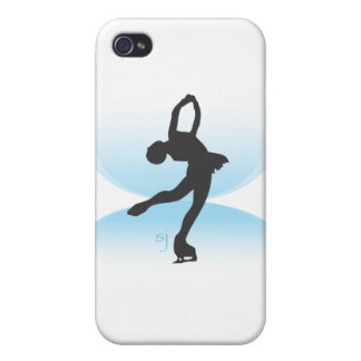 Figure Skater Spin iPhone 4 Case