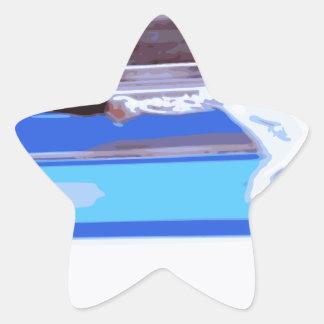 Figure Skater Star Sticker
