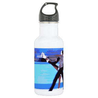 Figure Skater Water Bottle