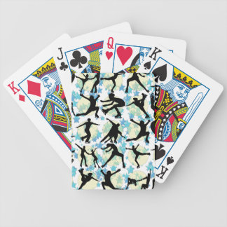 FIGURE SKATERS BICYCLE PLAYING CARDS
