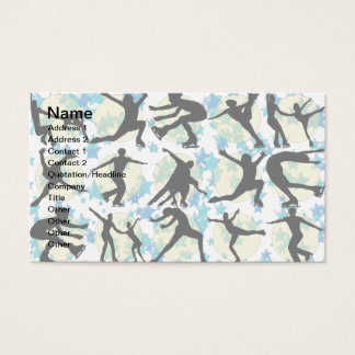 FIGURE SKATERS BUSINESS CARD