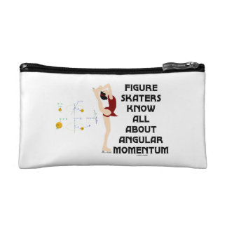 Figure Skaters Know All About Angular Momentum Makeup Bag