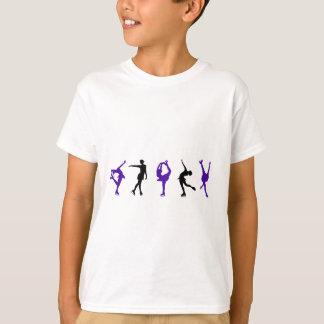 Figure Skaters - Purple & Black T-Shirt