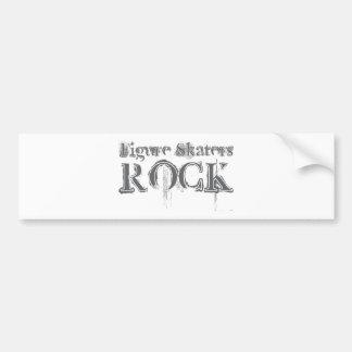 Figure Skaters Rock Bumper Sticker