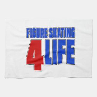 FIGURE SKATING 4 LIEE KITCHEN TOWEL