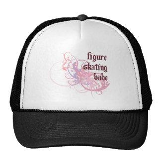 Figure Skating Babe Trucker Hat