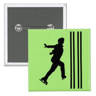 Figure Skating Button - Men's