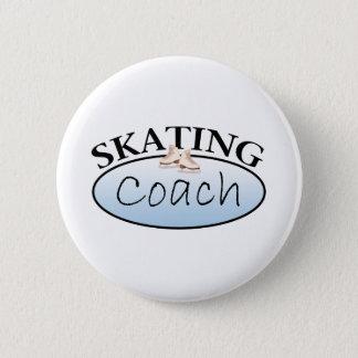 Figure Skating Coach Pinback Button