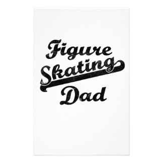 Figure Skating Dad Giftware Fathers Day Christmas Stationery