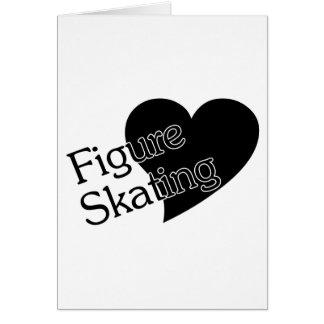 Figure Skating Heart/Love Card