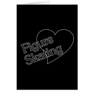 Figure Skating/Heart/Love Card