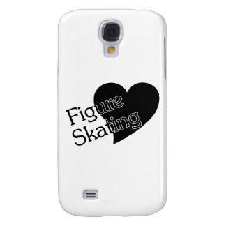 Figure Skating Heart/Love Galaxy S4 Cases