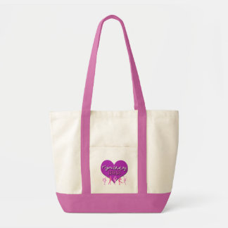 Figure Skating MOM Tote Bag (Pink/Purple)