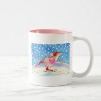 Figure skating mousie mug