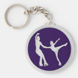 Figure Skating Pair Key Chains