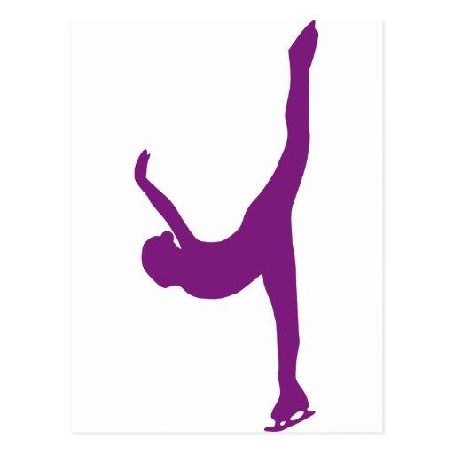 Figure Skating Post Cards