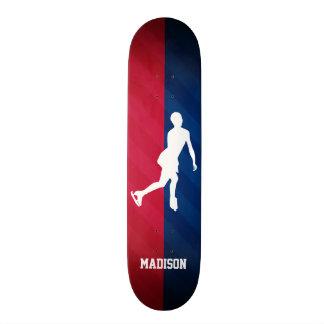 Figure Skating; Red, White, and Blue Skateboard Decks