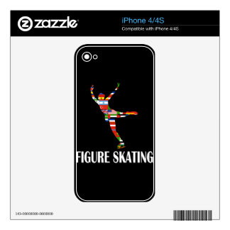 Figure Skating Skin For iPhone 4S
