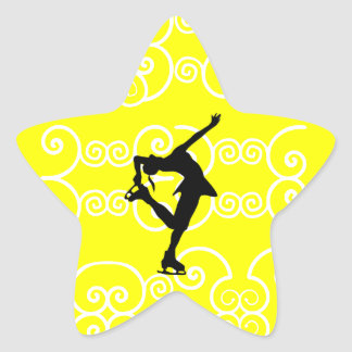 Figure Skating Star Stickers