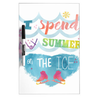 Figure Skating Summer Gifts Dry-Erase Board
