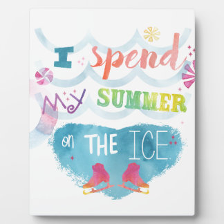 Figure Skating Summer Gifts Plaque
