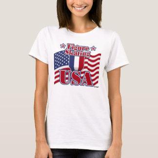 Figure Skating USA T-Shirt