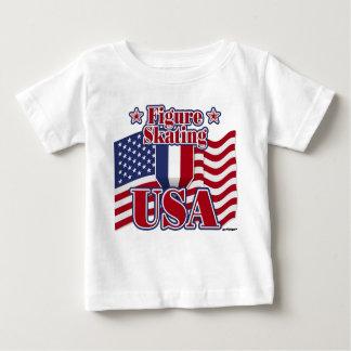 Figure Skating USA T Shirts