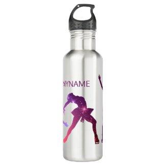 Figure skating water bottle - Star attitudes