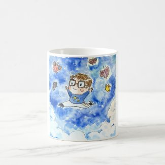 Figure Skating with Butterflies Coffee Mug