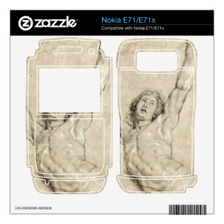 Figure Study of Christ by Paul Rubens Decal For The Nokia E71x