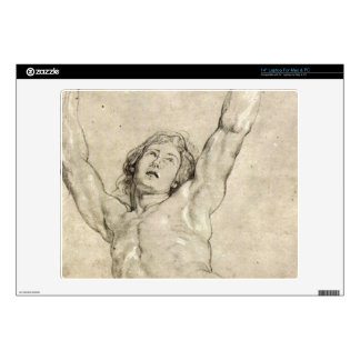 Figure Study of Christ by Paul Rubens Skin For Laptop