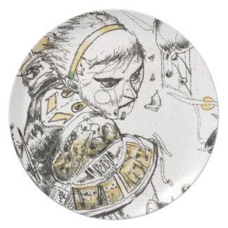 Figure Toy Dinner Plate