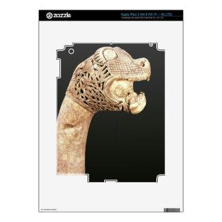 Figurehead of a Viking Longship, found at Oseberg, iPad 3 Skin