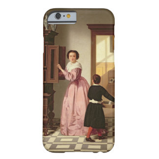 Figures in a Laundryroom, 1864 (oil on canvas) Barely There iPhone 6 Case