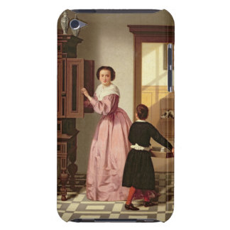 Figures in a Laundryroom, 1864 (oil on canvas) Barely There iPod Cover