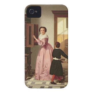 Figures in a Laundryroom, 1864 (oil on canvas) iPhone 4 Case