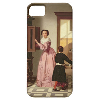 Figures in a Laundryroom, 1864 (oil on canvas) iPhone SE/5/5s Case