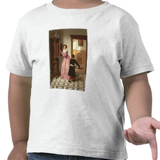 Figures in a Laundryroom, 1864 (oil on canvas) T Shirt