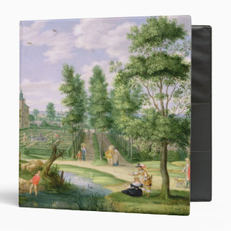 Figures in the Grounds of a Country House Binder