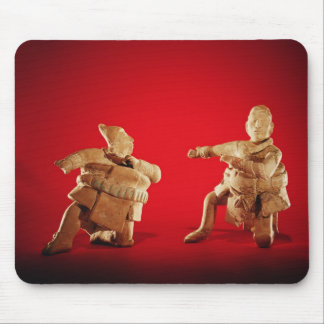 Figures of ceremonial ballplayers mouse pad