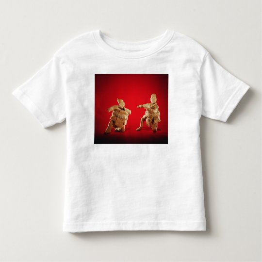 Figures of ceremonial ballplayers toddler t-shirt