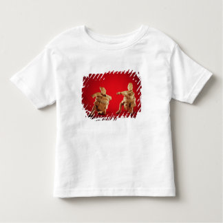 Figures of ceremonial ballplayers toddler t-shirt