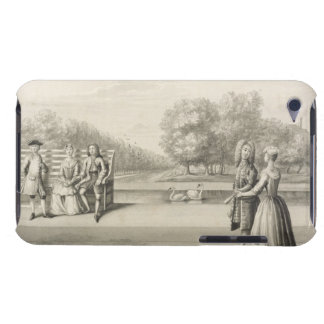 Figures on the bank of the Long Water, Hampton Cou Barely There iPod Case