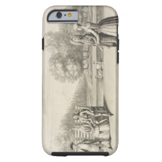 Figures on the bank of the Long Water, Hampton Cou Tough iPhone 6 Case