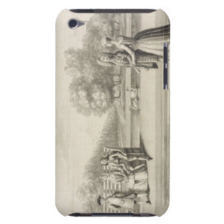 Figures on the bank of the Long Water, Hampton Cou iPod Touch Cover