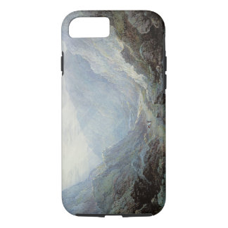Figures Resting On The Pathway Through A Rocky Gor iPhone 8/7 Case
