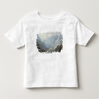 Figures Resting On The Pathway Through A Rocky Gor Toddler T-shirt