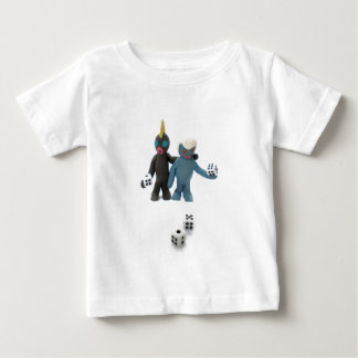 figures with dice baby T-Shirt