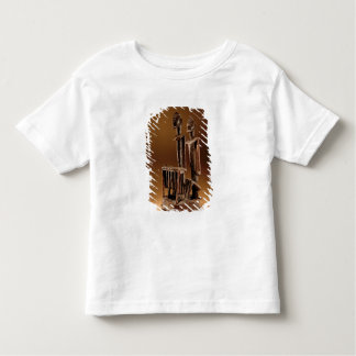 Figures with xylophone toddler t-shirt